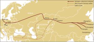 jedwabny szlak do Chin 21 wieku